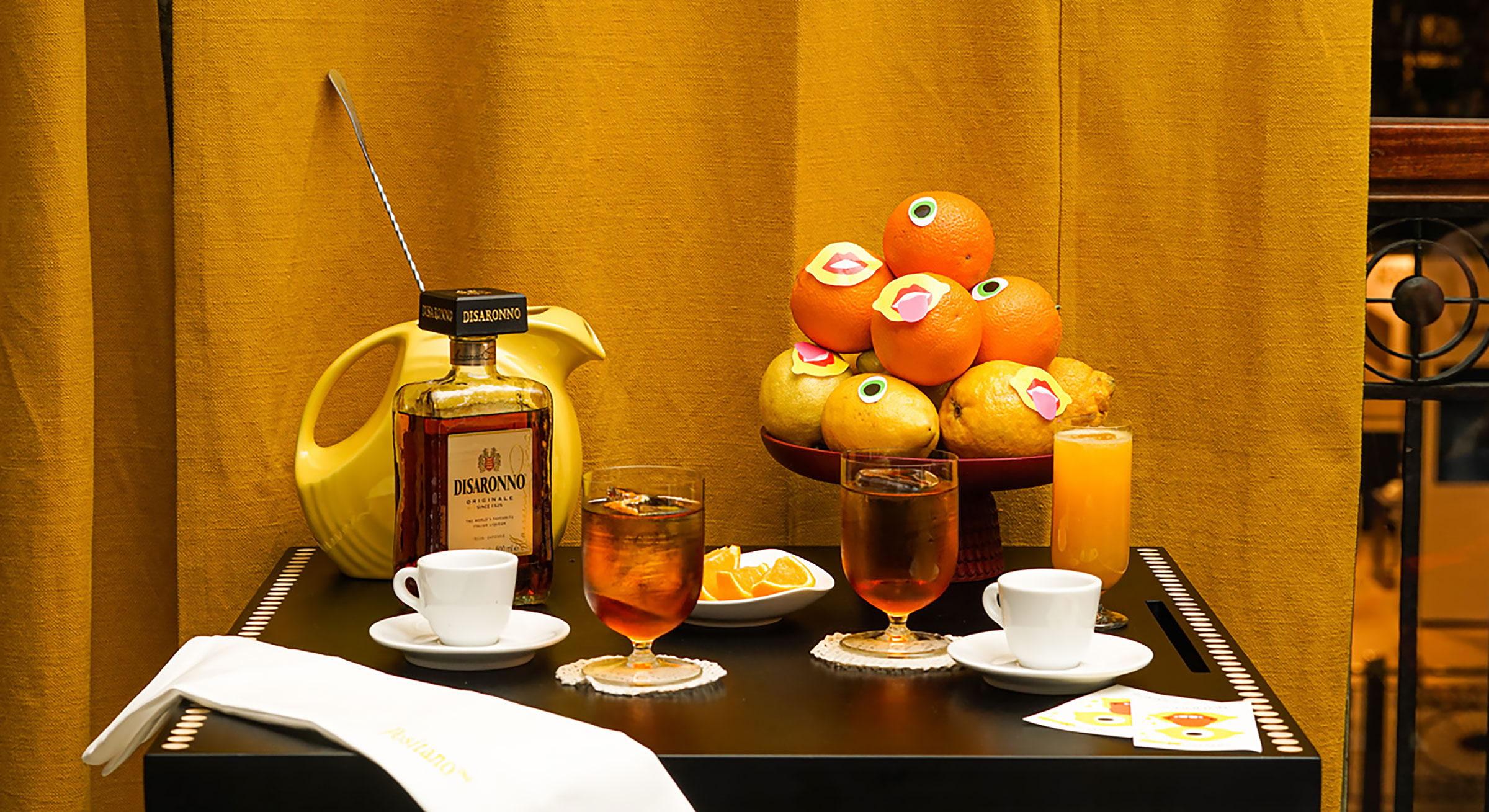 Drinken Godfather. Pressbild