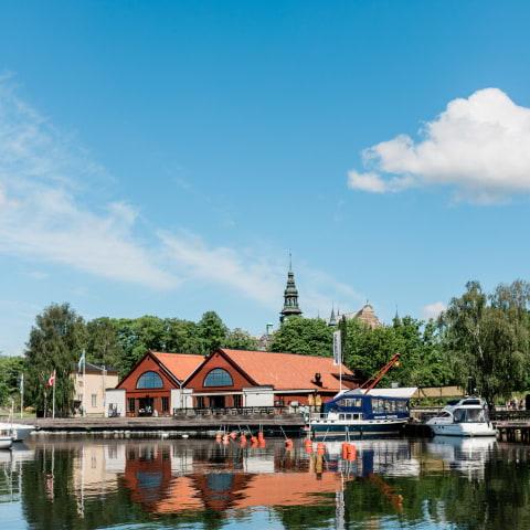 Spritmuseums brygga och berså har öppnat