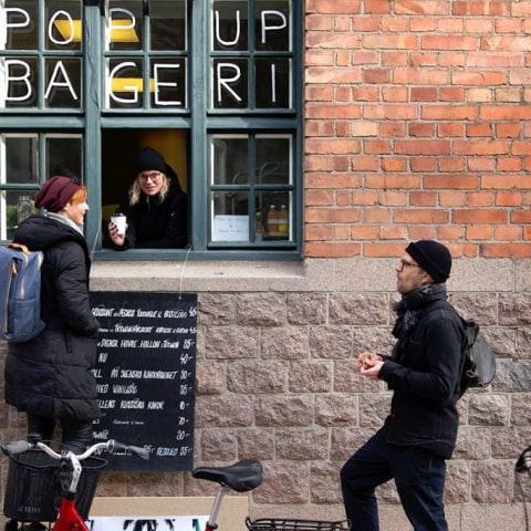 Fotografiska öppnar pop-up-bageri och drive-thru