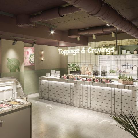 Nyttigt fastfood-koncept öppnar vid Hötorget