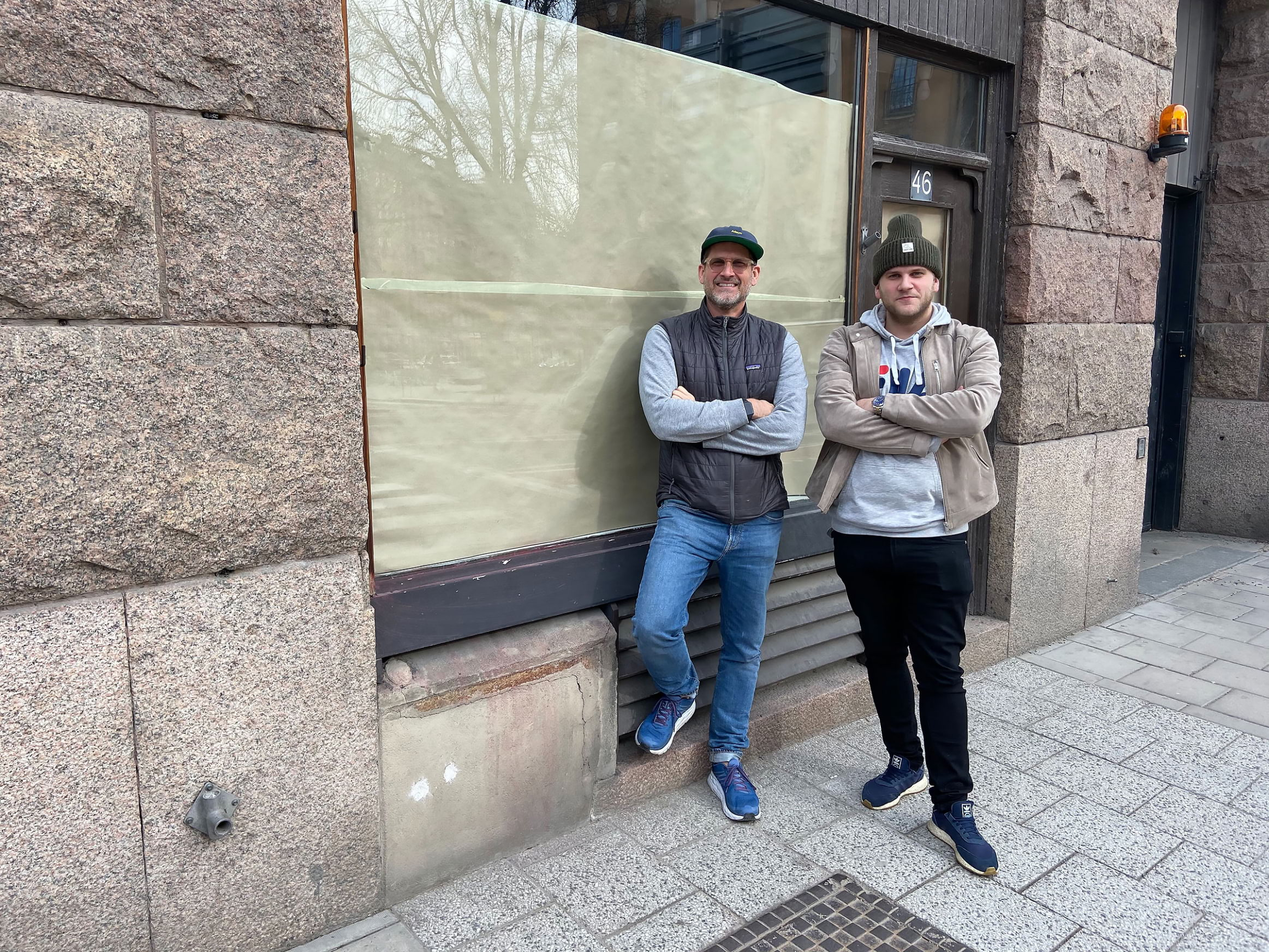 Jonas Findell och Fred Jansson