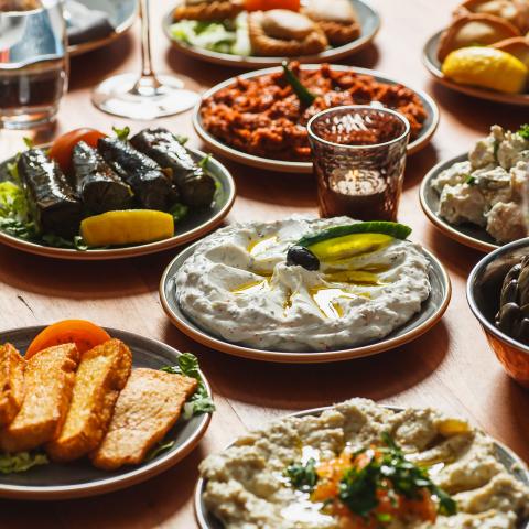 Stockholms bästa restauranger med mat från Mellanöstern