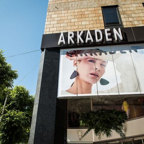 Digital modevisning på Arkaden