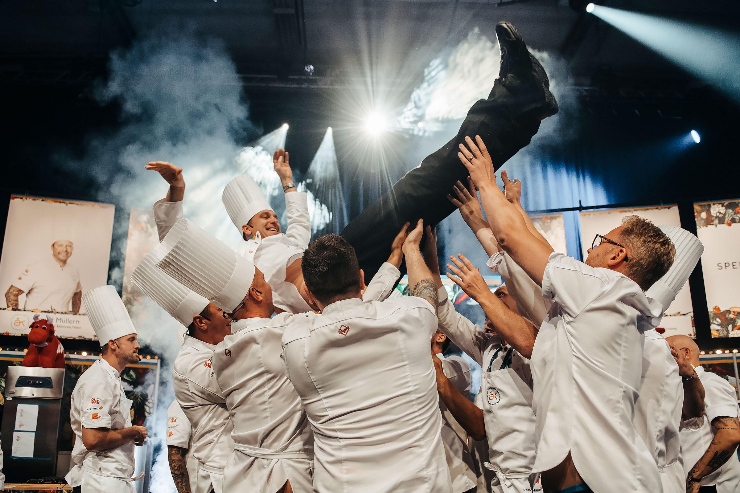 Martin Moses vann Årets Kock 2019. Foto: Samuel Unéus/Pressbild