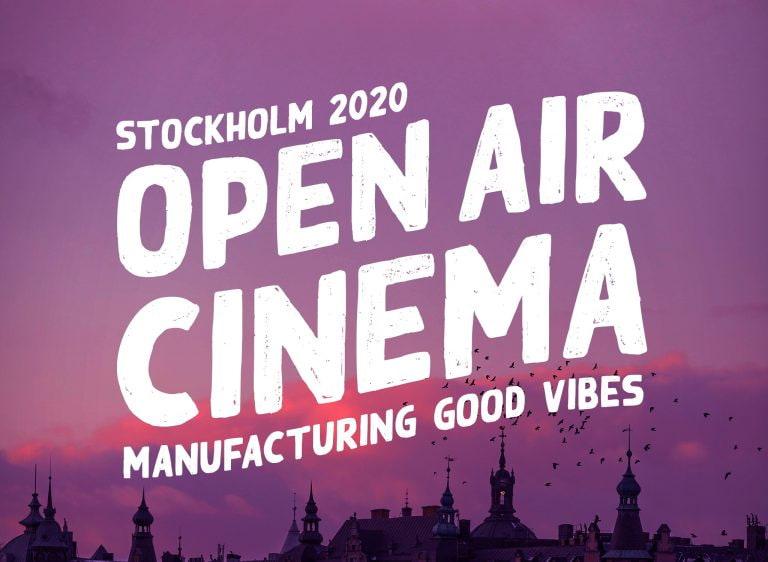 Utomhusbiofestival till Stockholm i sommar