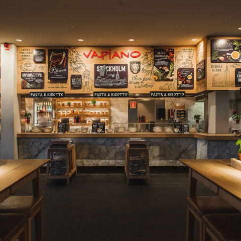 Vapiano i Sverige i konkurs – restaurangerna till salu