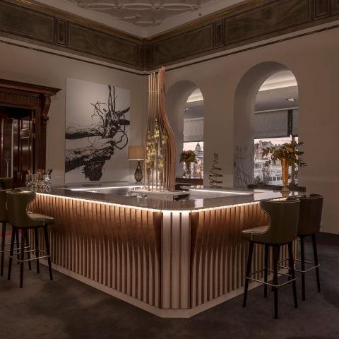Grand Hôtel öppnar exklusiv champagnebar