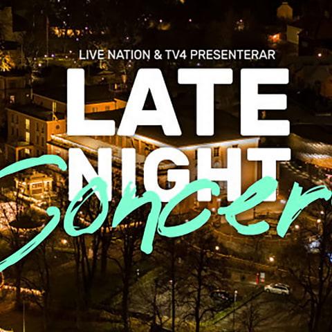 Ny säsong av Late Night Concert på TV4 i vinter