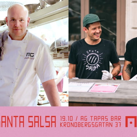 AG x Santa Salsa