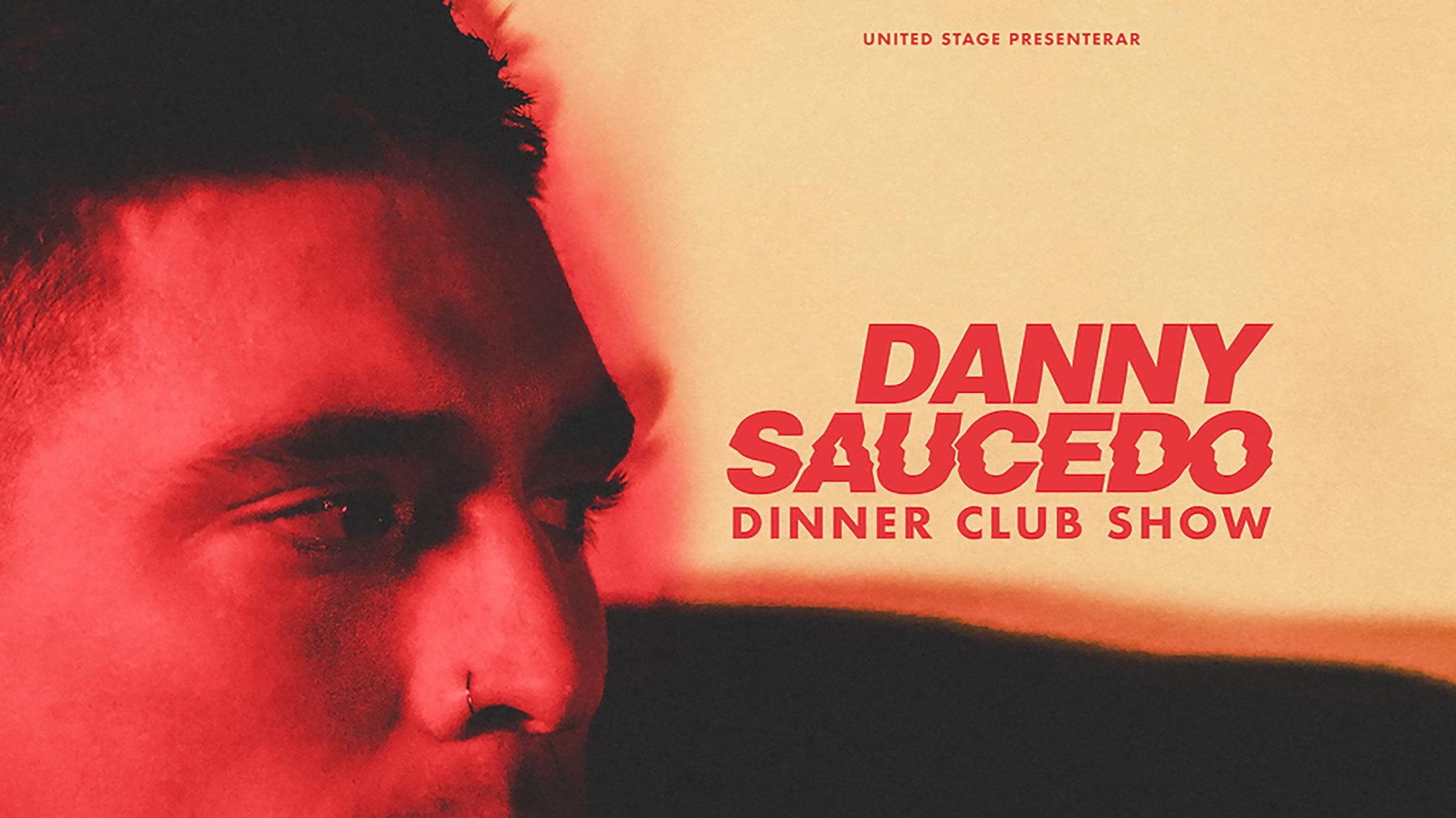Danny Saucedo gör dinner show på Berns