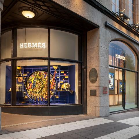 Hermès öppnar flaggskeppsbutik på NK
