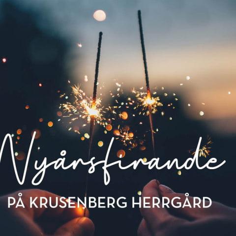 Nyårsafton på Krusenberg Herrgård