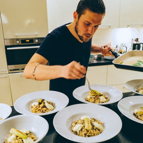 Vegansk pop-up restaurang med Anton Petrov