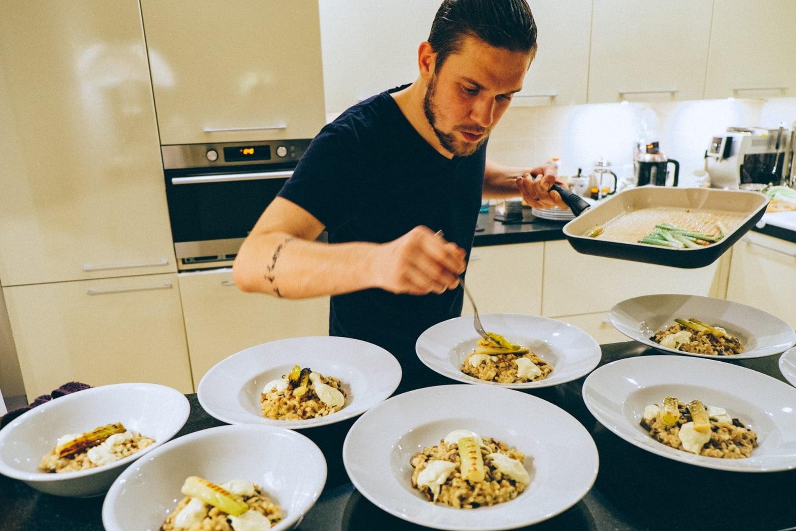 Vegansk pop-up restaurang med Anton Petrov