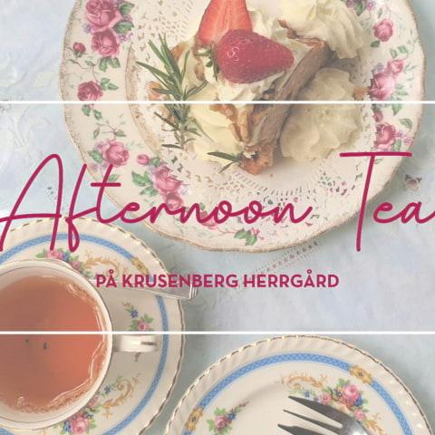 Afternoon Tea på Krusenberg Herrgård