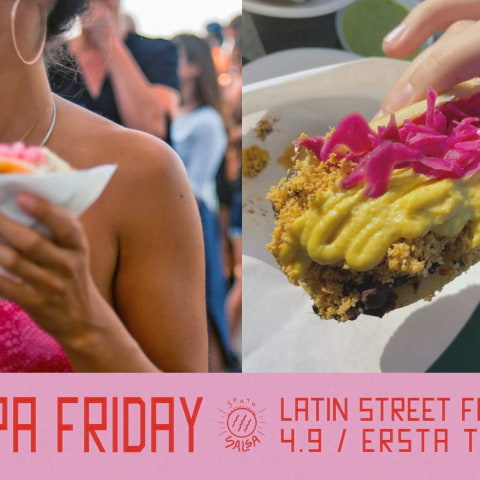 Arepa Friday: Latin Street Food-AW på Ersta Terrass