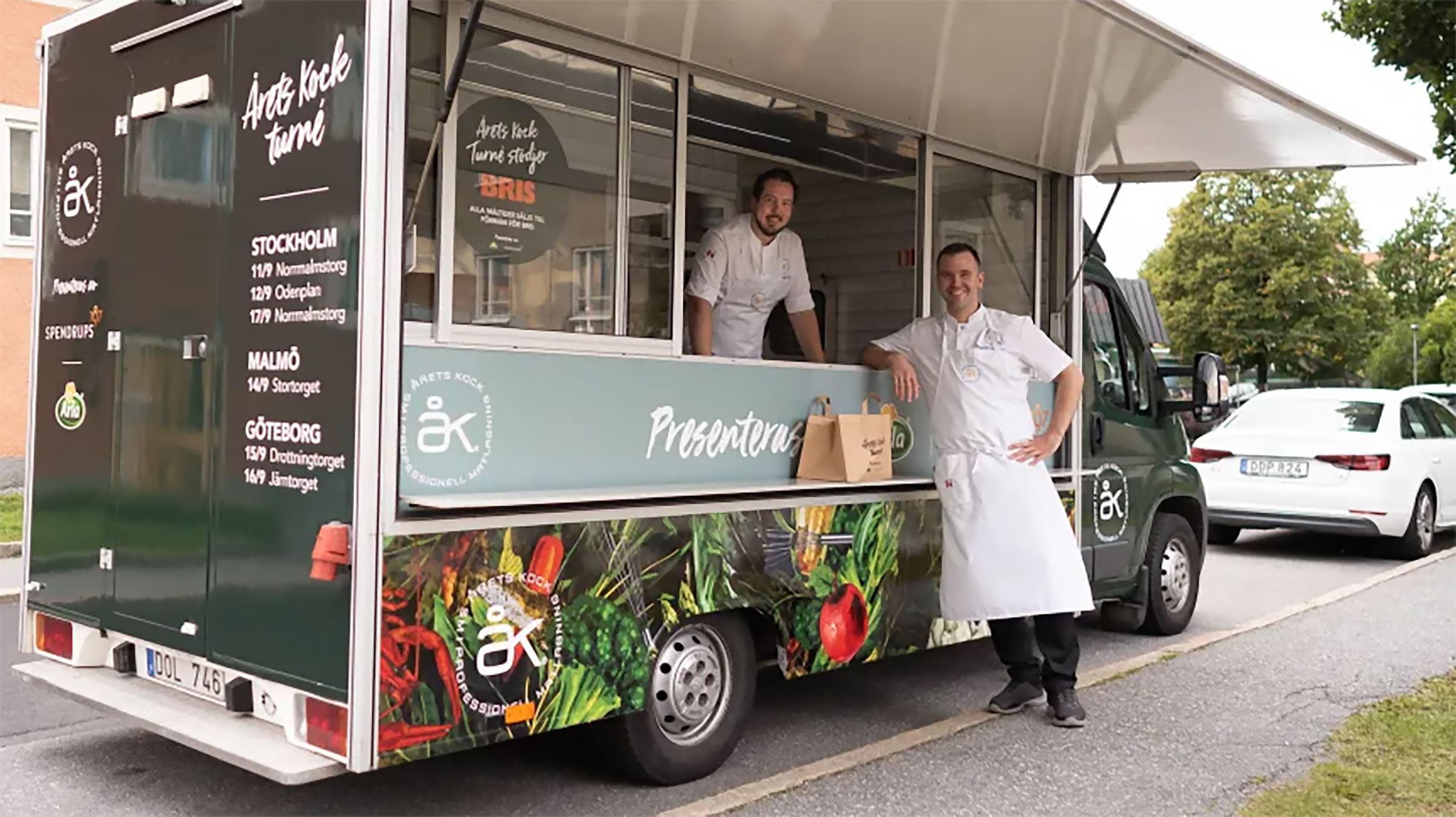 Årets Kock Foodtruck på turné med tidigare vinnare