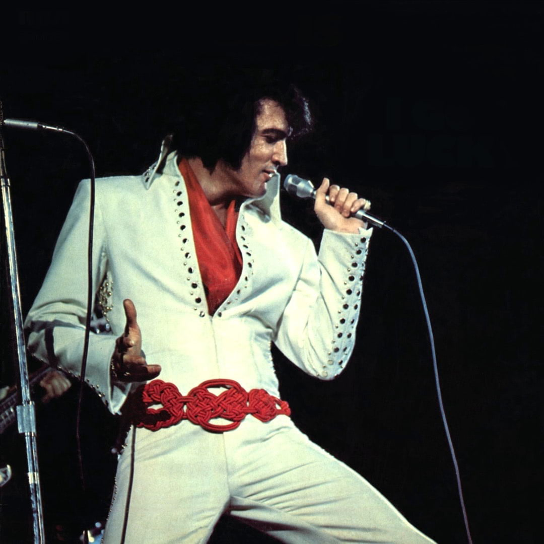 Elvis look & sound alike tävling på Biocafé Tellus