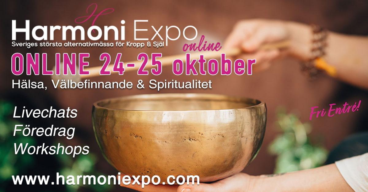 HarmoniExpo - Största Alternativmässan ONLINE 24-25 oktober 2020