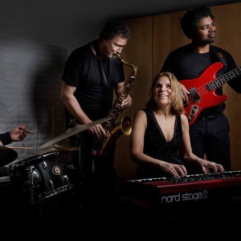 Jazzscenen på Biocafé Tellus med Selander Quartet SQ