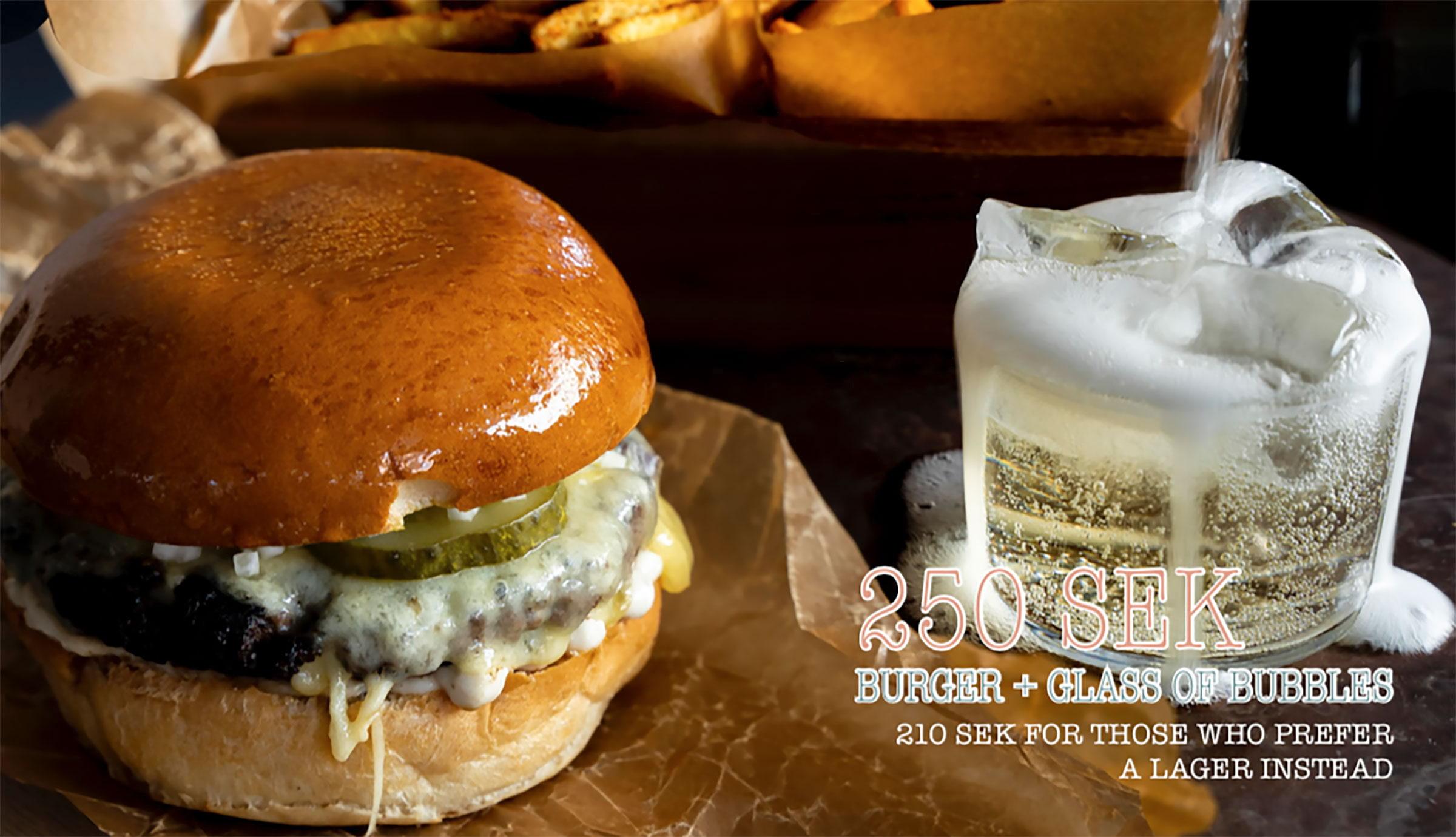 LYKKE bjuder in till Burgers & Bubbles