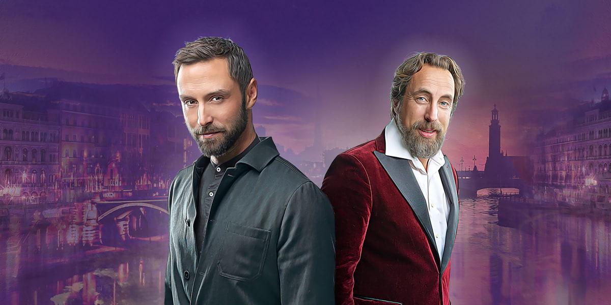 Måns Zelmerlöw och Per Andersson gör digital julshow