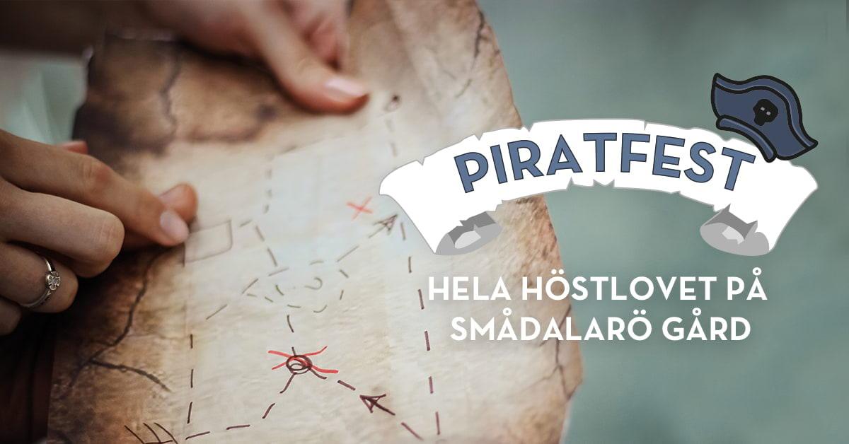 Piratfest hela höstlovet på Smådalarö Gård
