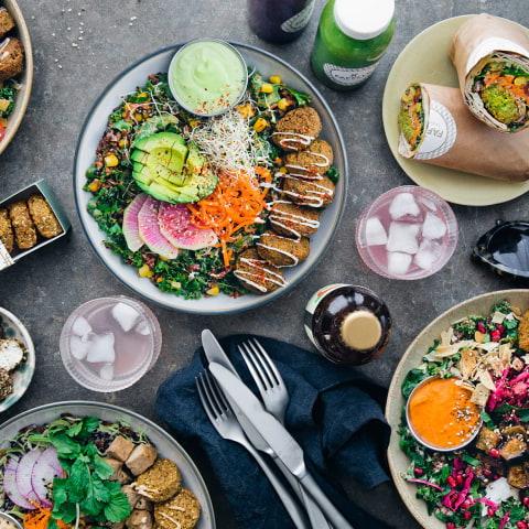 Stjärnkock öppnar vegetariskt snabbmatskoncept