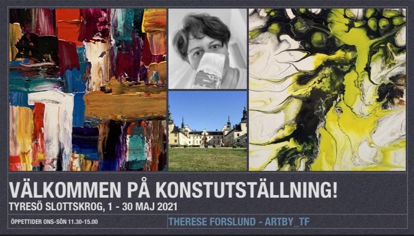 """Konstutställning """"New act"""" av Therese Forslund"""