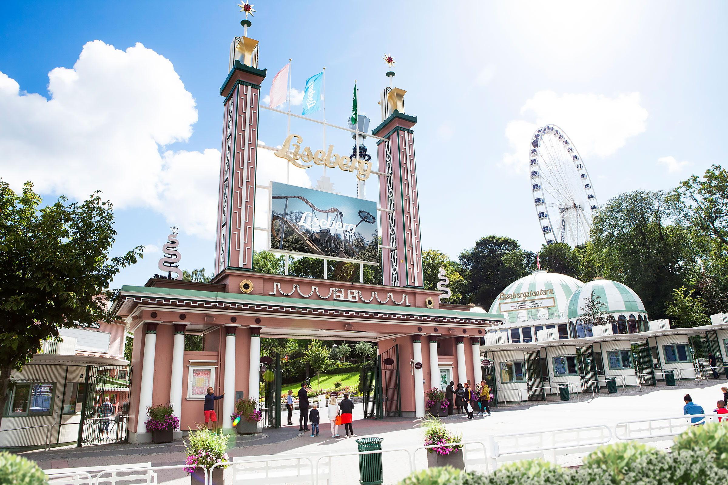 Liseberg öppnar 90-talets promenadpark