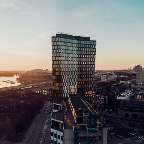 Nu öppnar Stockholms nya skybar – på 28:e våningen