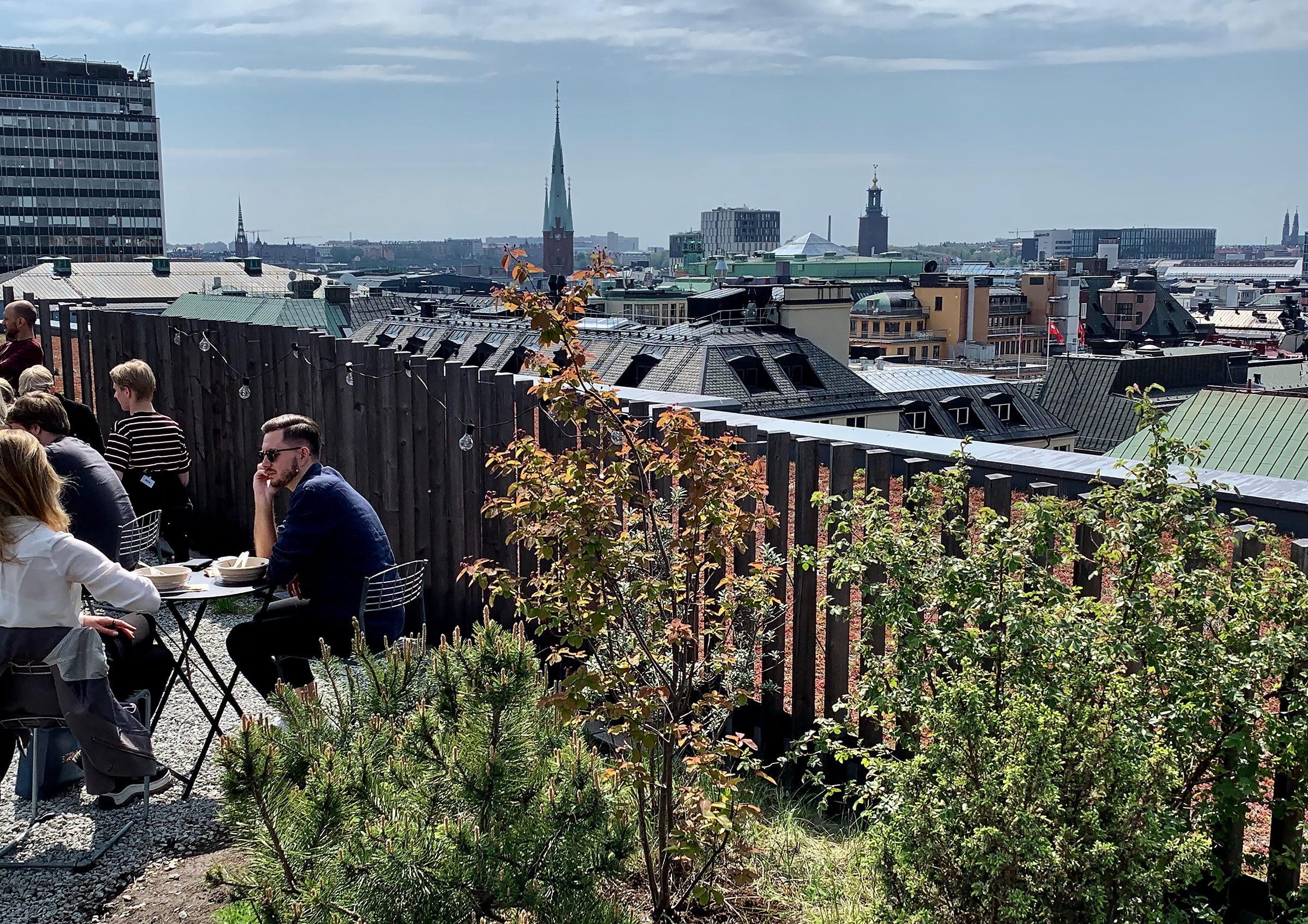Nu öppnar Urban Delis populära takpark