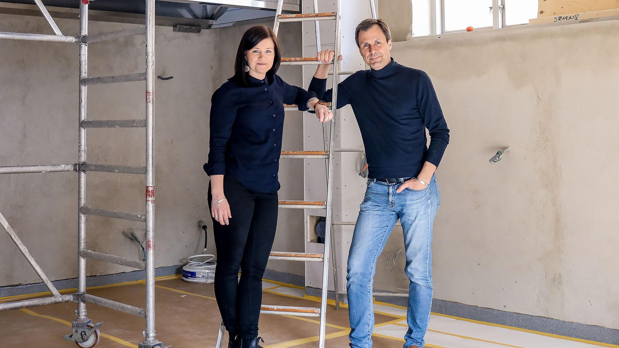 Sebastian Schildt och Elvira Lindqvist. Foto: Pressbild