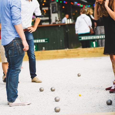 Här kan du spela boule i Stockholm