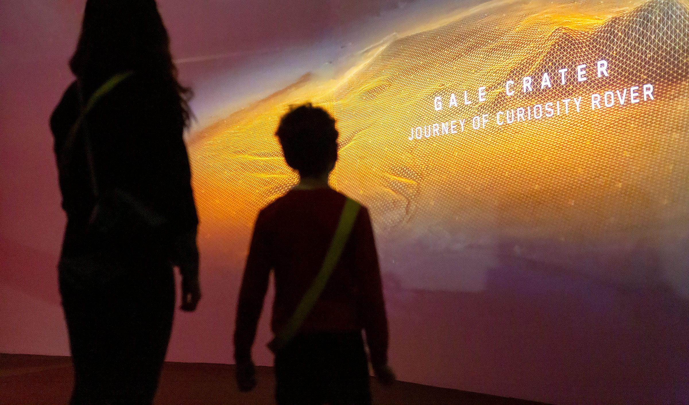 Åk på rymdäventyr till Mars på Tekniska museet