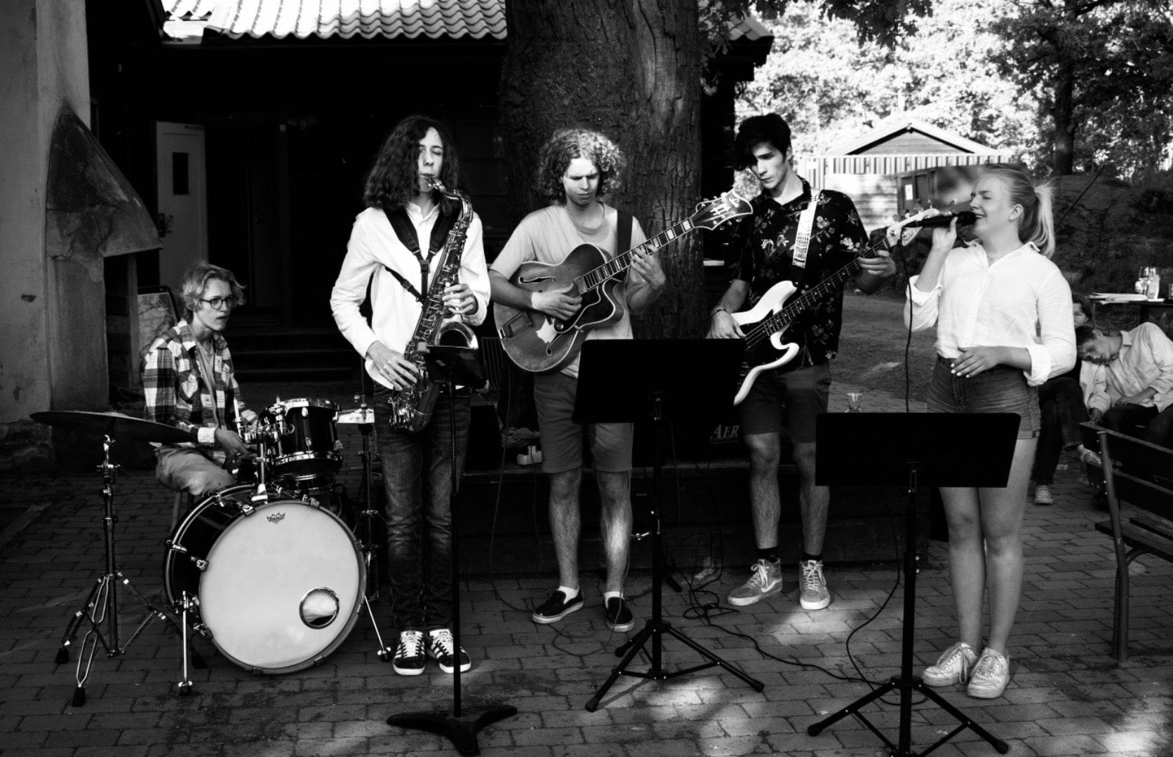 Sommar jazz jam på Biocafé Tellus