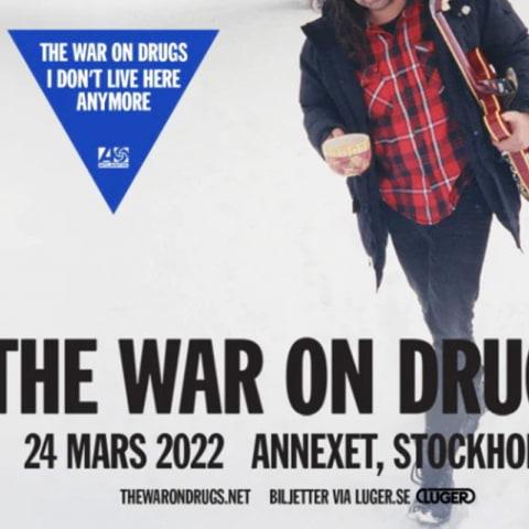 The War on Drugs till Stockholm i mars