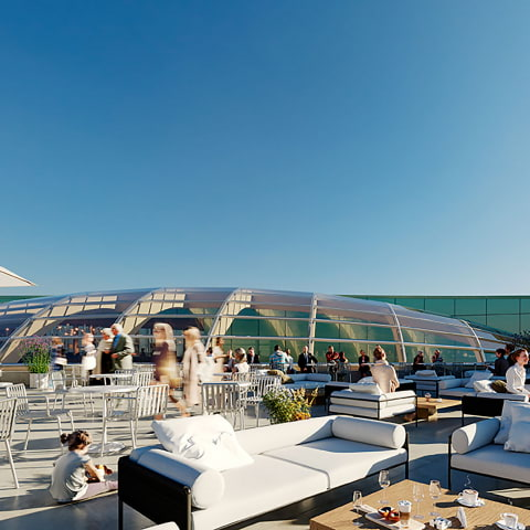 Nu byggs restaurang med stor takterrass i Slussen