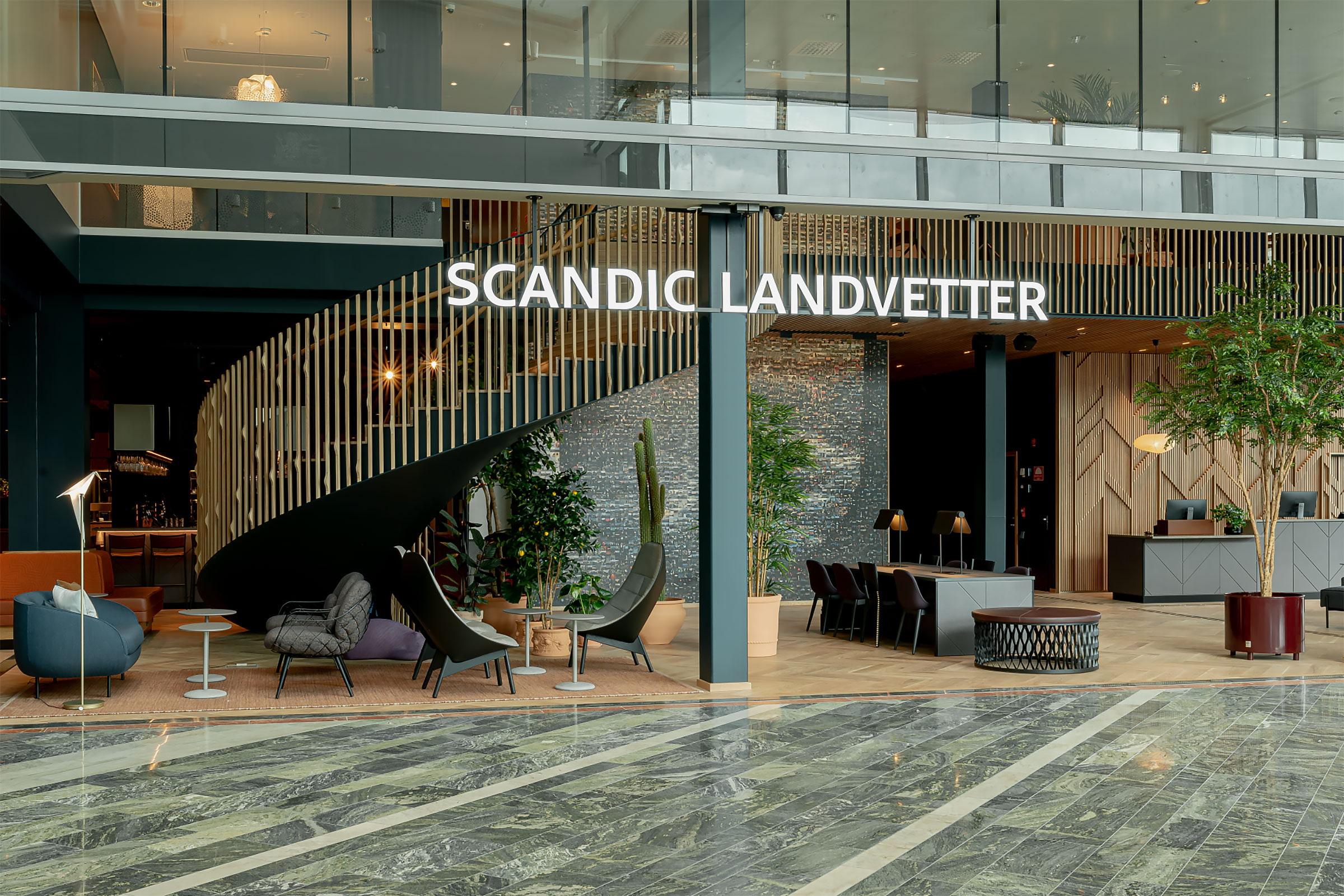 Scandic Landvetter är stans nya start- och landmärke