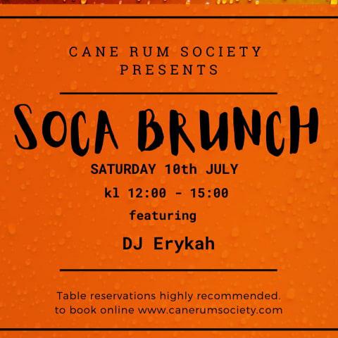 Soca Brunch - Summer Edition