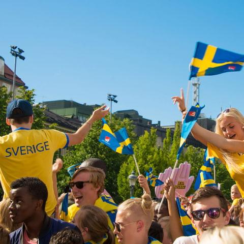 Fotbolls-EM: Här kan man se matcherna i Stockholm