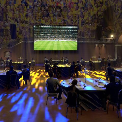 Verandan på Grand Hôtel öppnar bakficka till fotbolls-EM