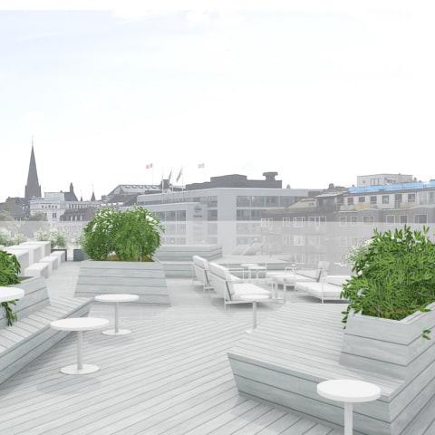 Clarion Malmö Live öppnar ny takterrass