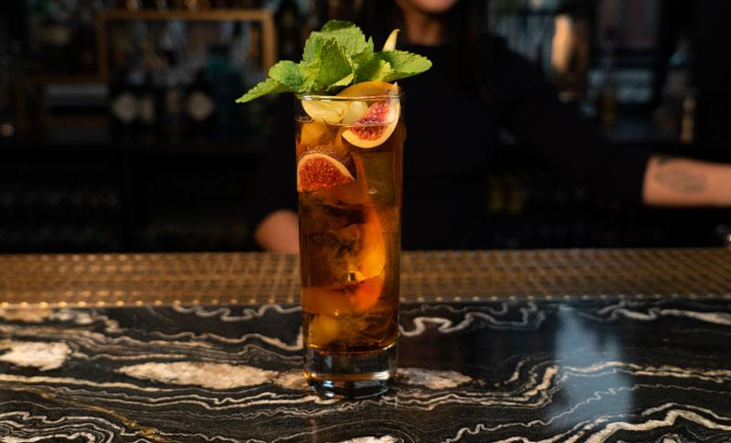 Vermouth Ginger Ale