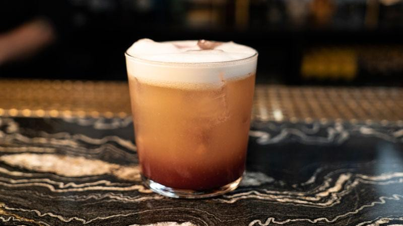 New York Christmas Sour