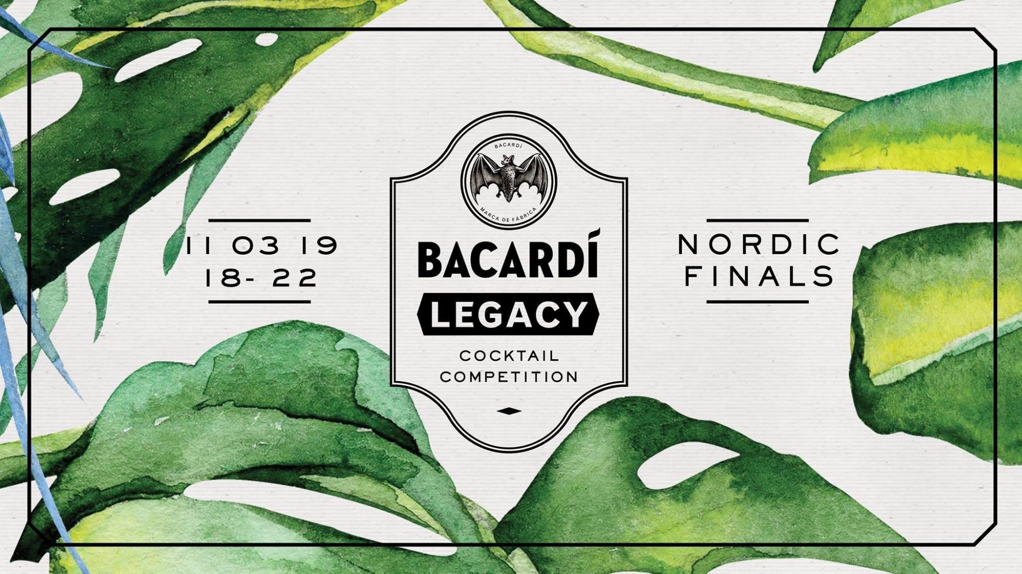 Bacardi Legacy Nordic Final