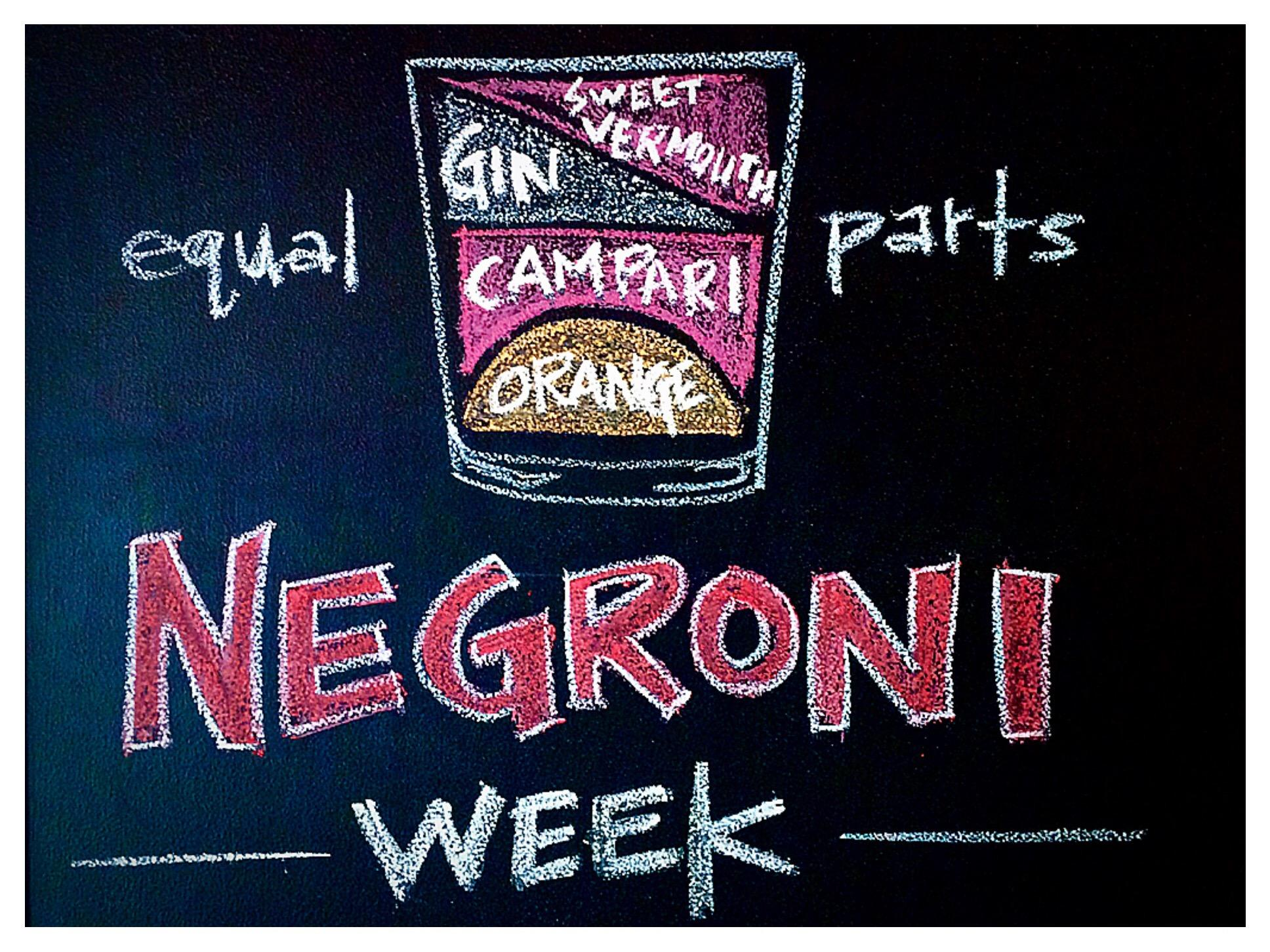 "Negroni Week - Recept för ""a drink for a good cause"""