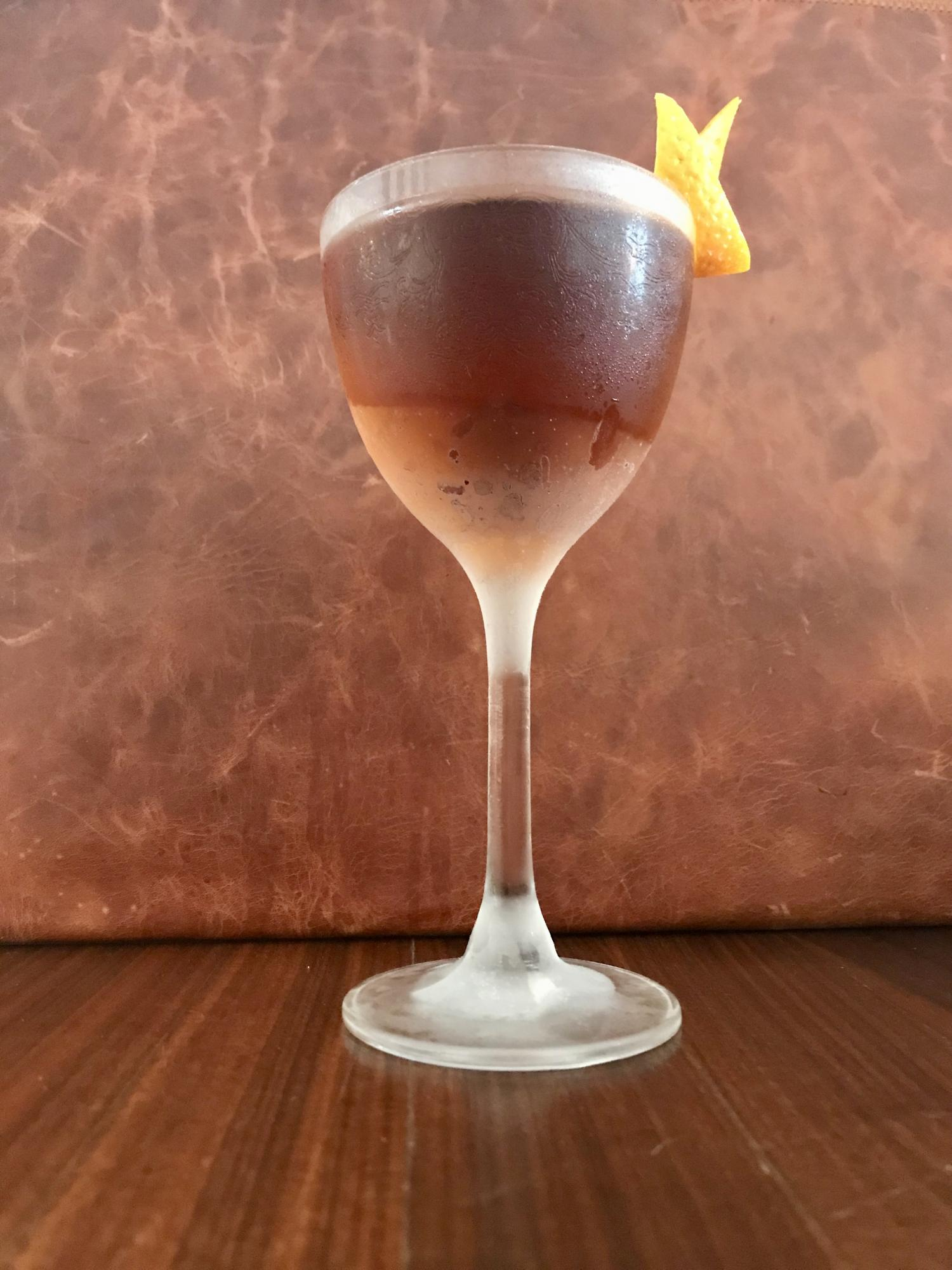 Recept Hanky Panky - The American Bar, Gin & Fernet Branca