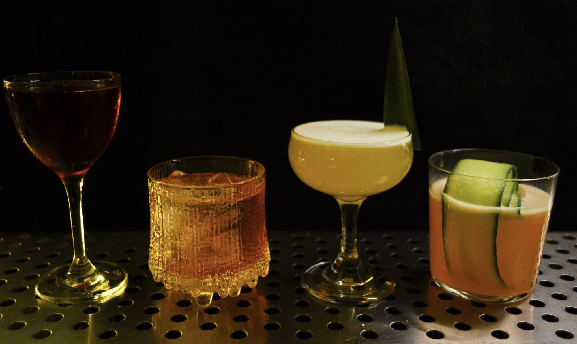 Bildskön måndag - Cocktails - Penny & Bill's Menu