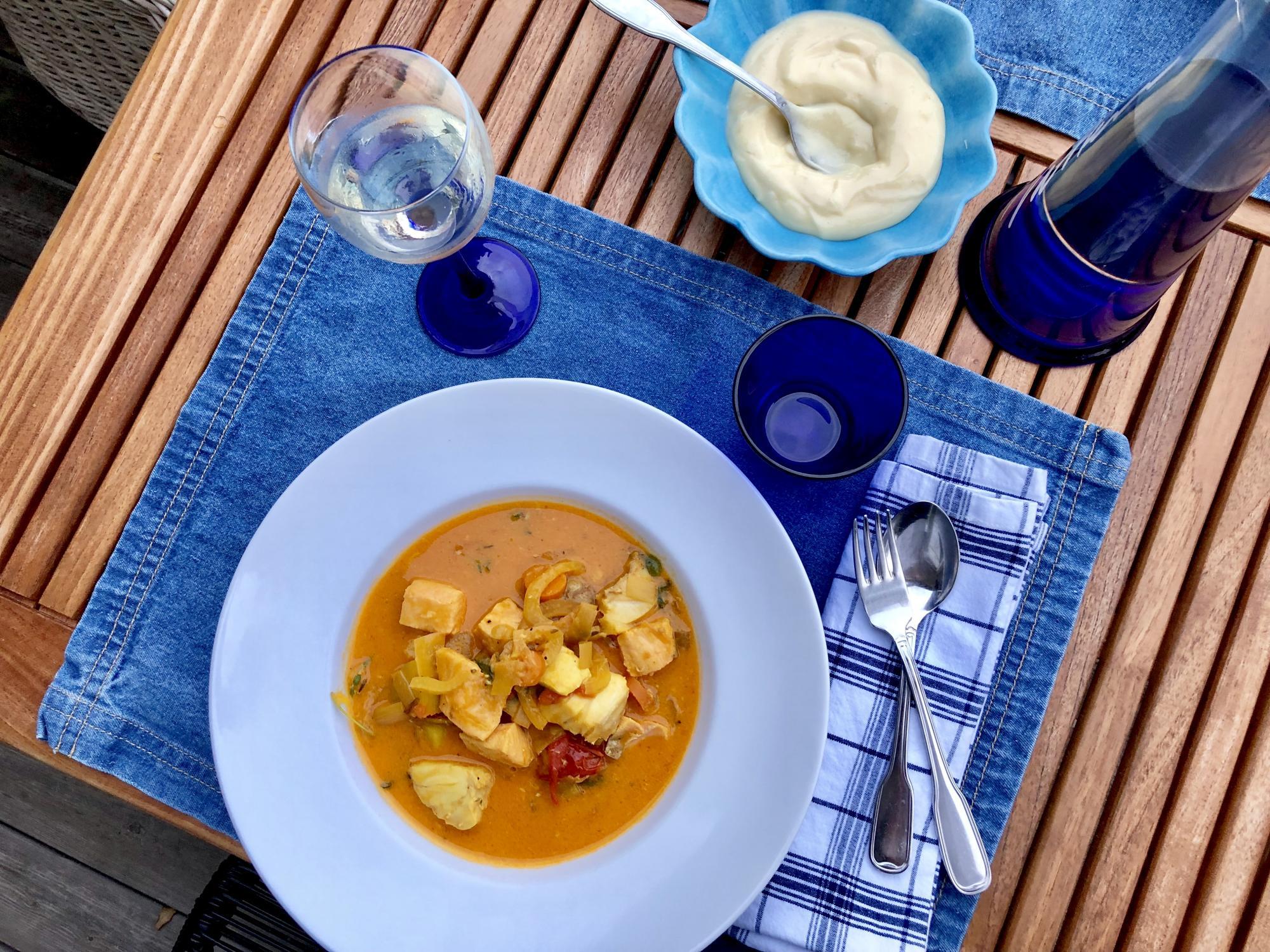 Recept | Fiskgryta med saffran